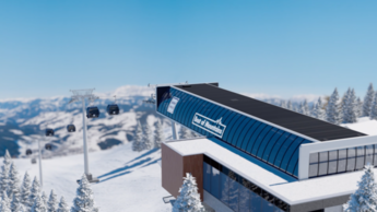 Bergstation der neuen Flying Mozart in Wagrain im Snow Space Salzburg | © Snow Space Salzburg