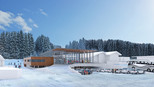 Neubau der Flying Mozart Talstation in Wagrain im Snow Space Salzburg | © Snow Space Salzburg